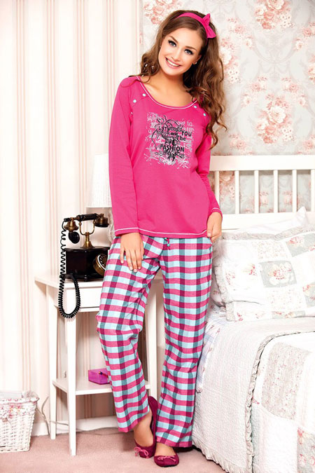 مدل لباس خواب دخترانه بسیار نرم و لطیف