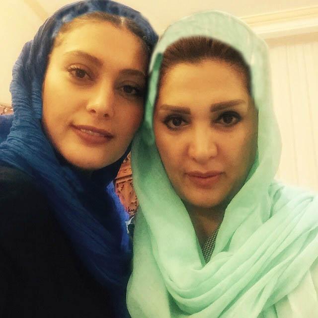 عکس / سودابه بیضایی و مادرش