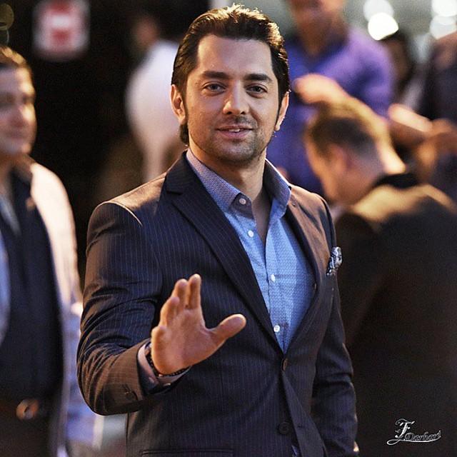 عکس / بهرام رادان در جشن پانزدهم حافظ