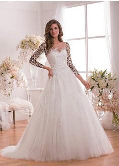 مدل لباس عروس فانتزی اروپایی