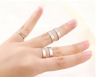 مدل انگشتر اسپرت بسیار جذاب دخترانه