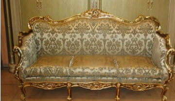مدل مبلمان سلطنتی شیک سبک استیل