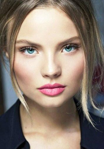 مدل های تاپ از ابرو پهن دخترانه