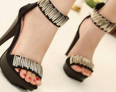 مدل کفش مجلسی تابستانی پاشنه بلند
