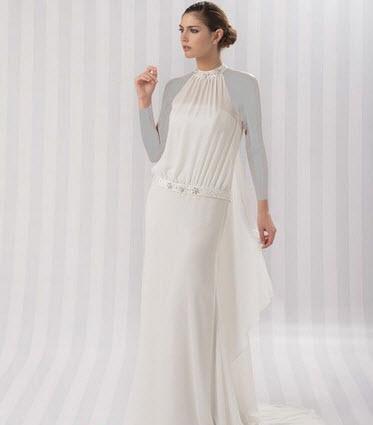 مدل لباس عروس ساده و پفی ۲۰۱۵