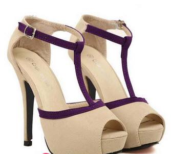 مدل کفش پاشنه ۱۲ سانتی مجلسی با رنگ شاد