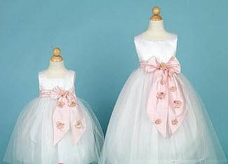 مدل لباس پفی مجلسی ویژه دختربچه ها