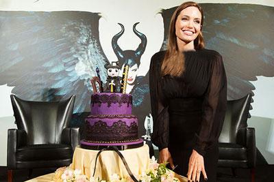 جشن تولد ۴۰ سالگی آنجلینا جولی + عکس