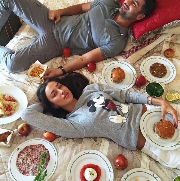 ایرینا شایک و نامزد ایرانی اش! + عکس