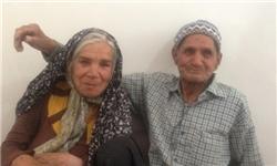ازدواج مسن ترین عروس و داماد ایرانی! + عکس