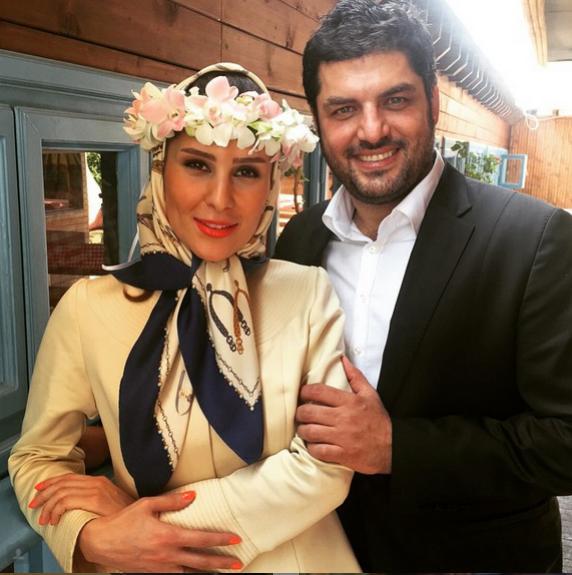 بازیگر مشهور ایرانی ازدواج کرد! + عکس