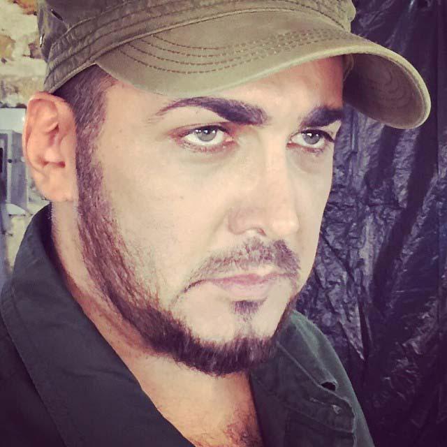 گریم چریکی حسام نواب صفوی! + عکس