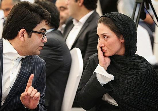عکس جالب فرزاد حسنی و هدیه تهرانی !