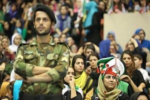 ورود بانوان به سالن ۱۲ هزار نفری آزادی تهران ممنوع اعلام شد !!