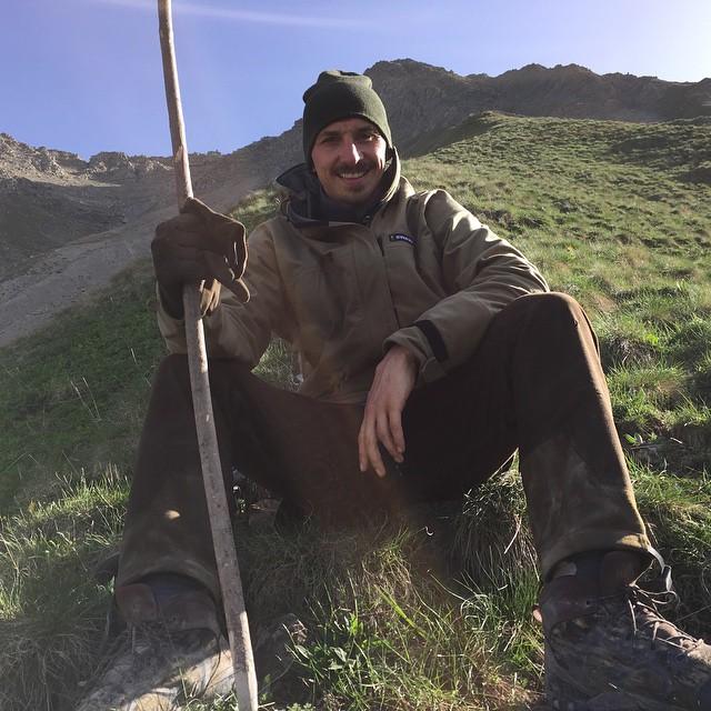 کوهنوردی زلاتان ابراهیموویچ + عکس
