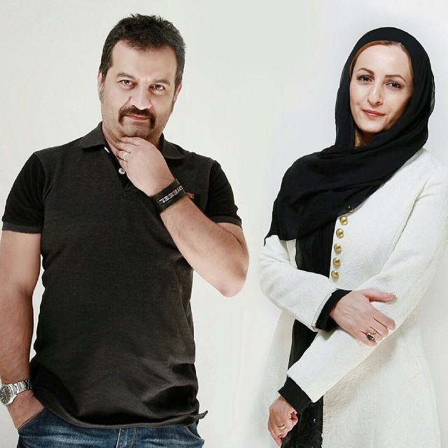 عکس جدید مهراب قاسم خانی و همسرش