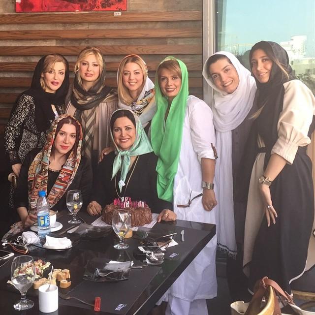 جشن تولد کمند امیرسلیمانی با حضور بازیگران ! + عکس
