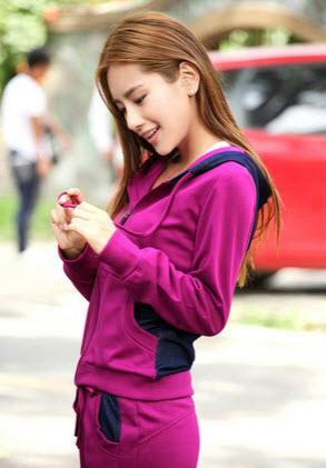 مدل لباس ورزشی بسیار جذاب دخترانه