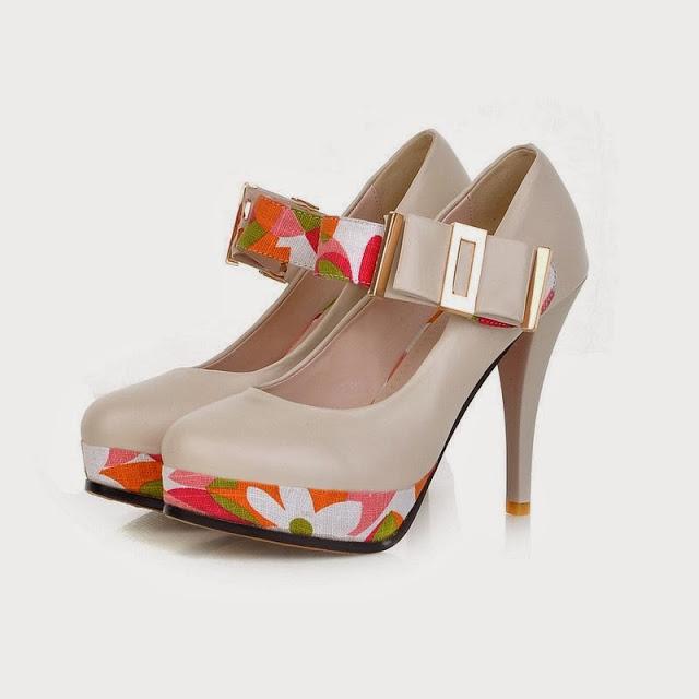 مدل کفش پاشنه ۲۰ سانتی دخترانه