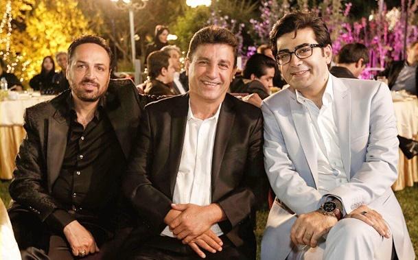 عکس جدید فرزاد حسنی در کنار امیر قلعه نویی