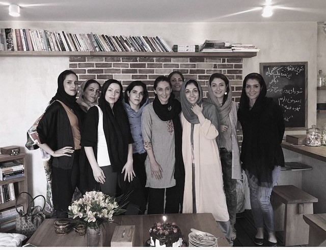 عکس / جشن تولد هدیه تهرانی