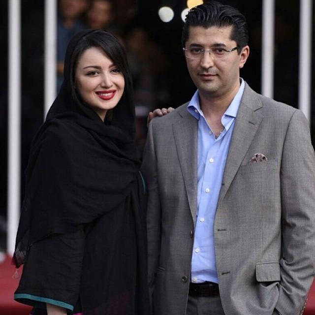 عکس / شیلا خداداد و همسرش در جشن حافظ