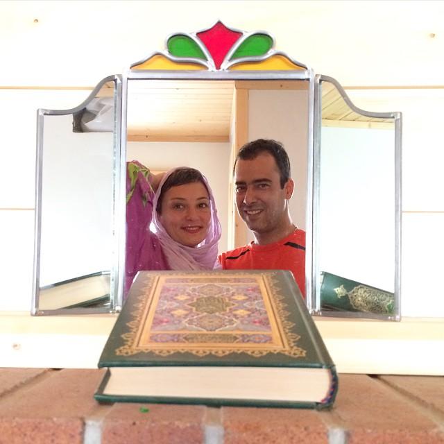 عکس جدید سحر ولد بیگی و همسرش نیما فلاح
