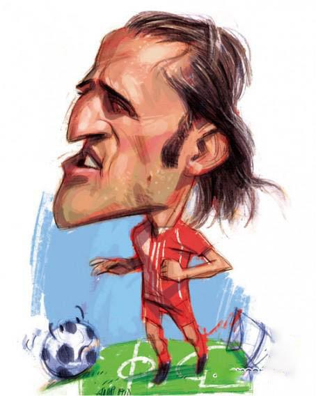 کاریکاتور فوتبالیست های ایرانی / عکس