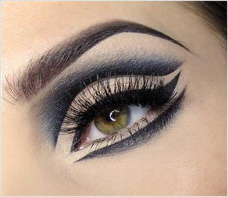 جذاب ترین مدل آرایش چشم ترکیبی