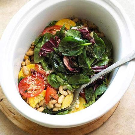 آموزش درست کردن کسرول سبزیجات غذای گیاهخواران