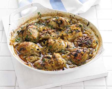 چگونه یک مرغ اسپانیایی خوشمزه درست کنیم؟