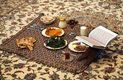 نکات قابل توجه در مورد مصرف غذا در ماه رمضان