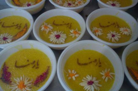 زیباترین مدل تزیین شله زرد ویژه رمضان ۹۴
