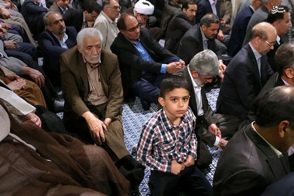عکس / فرزند شهید احمدی روشن