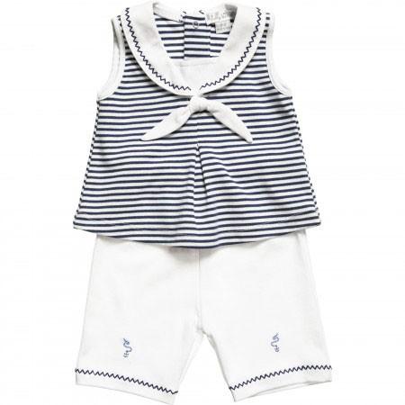 مدل لباس نخی نوزاد ۵ ماهه