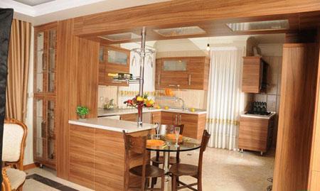 مدل آشپزخانه بسیار شیک و مدرن