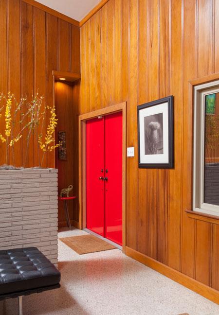 مدل دکوراسیون شیک از درب ورودی منزل