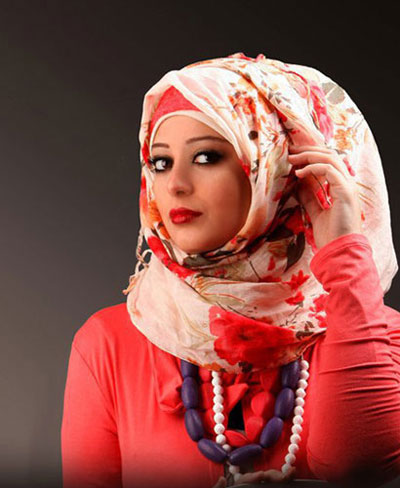 مدل شال عربی بسیار جذاب و جدید