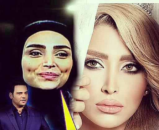 توجیه احسان علیخانی درباره حضور یک مانکن! + عکس