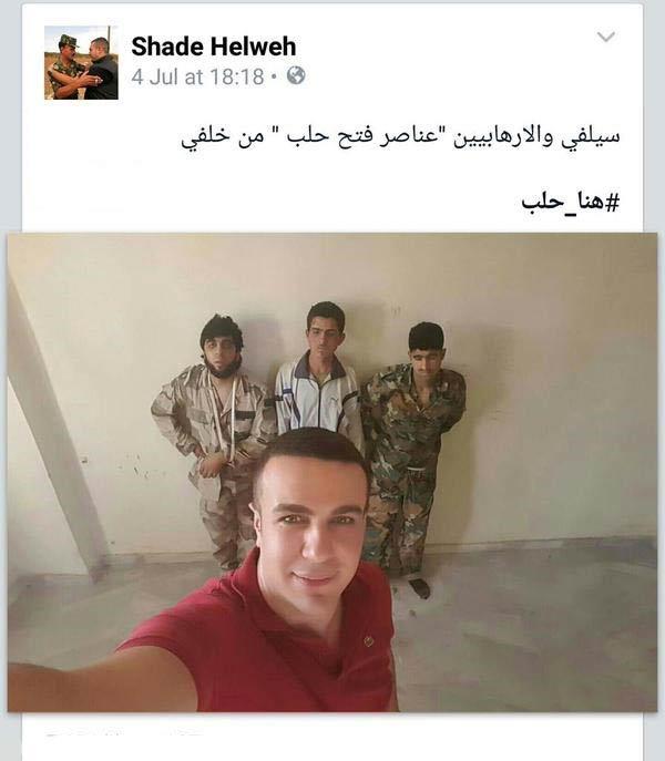 سلفی جالب یک خبرنگار با داعشی ها + عکس
