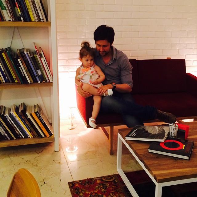 عکس / شاهرخ استخری و دخترش پناه
