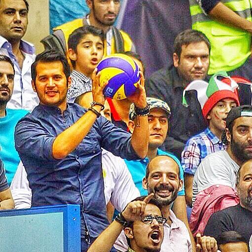 عکس / هدیه سعید معروف به سیاوش خیرابی
