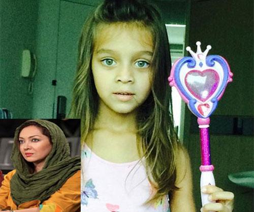 شباهت نیکی کریمی به خواهرزاده اش! / عکس