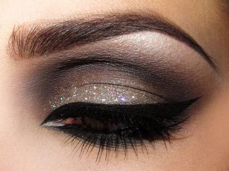 آموزش آرایش چشم مخصوص شب