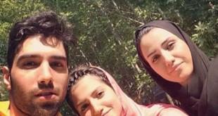 عکس / سلفی سید محمد موسوی و خواهرانش