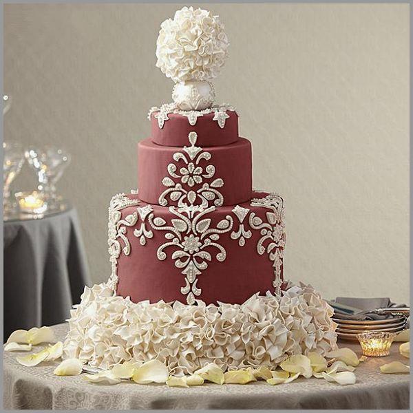 مدل های جدید کیک عروسی ۲۰۱۵ (سری دوم)