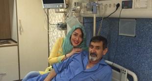 عکس / سارا منجزی پور و پدرش