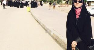 عکس / مژده لواسانی در مسجد کوفه