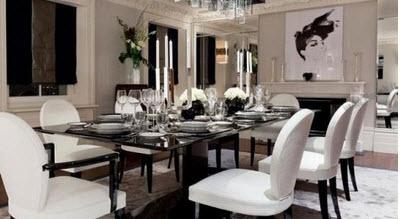 مدل بسیار زیبا از انواع میز نهار خوری