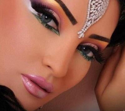 مدل آرایش بسیار جذاب به سبک خلیجی